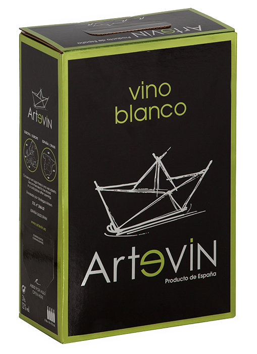Bag in Box Vino de la Tierra Blanco | Artevin Blanco