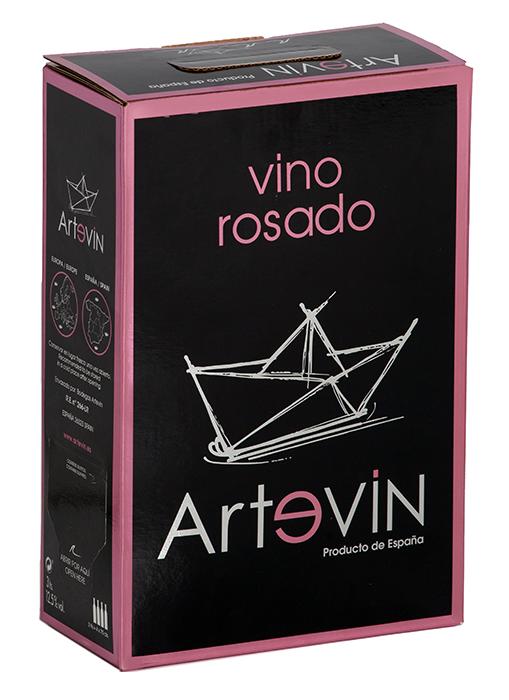 Bag in Box Vino de la Tierra Rosado | Artevin Rosado