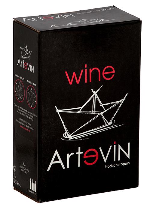 Bag in Box Vino de la Tierra Tinto | Artevin Tinto